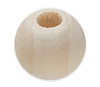 Unfinished Round Wooden Beads 12mm