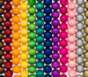 Colored Round Wooden Beads 16mm