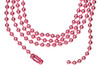 """Ball Chain Necklaces Colored 18"""""""