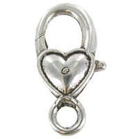 Heart Lobster Clasps (25 pack)