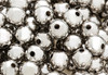 Silver Round Spacer Beads 4mm