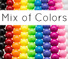 Gumball Beads MIX 24mm (11 pack)