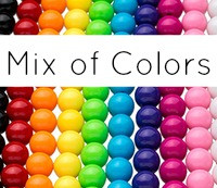 Gumball Beads MIX 12mm (50 pack)
