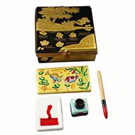 Japanese Paint Box Rochard Limoges Box