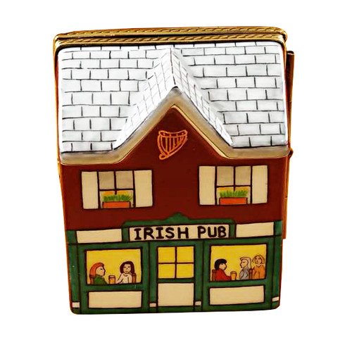 Irish Pub Rochard Limoges Box