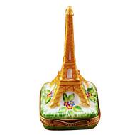 Eiffell Tower - Gold Rochard Limoges Box