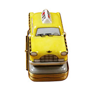 Yellow Taxi - I Love New York Rochard Limoges Box
