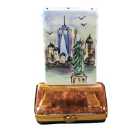 Freedom Tower Easel Rochard Limoges Box