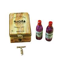 Wine Crate Taster Set Rochard Limoges Box