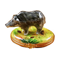 Limoges Imports Wild Boar Limoges Box
