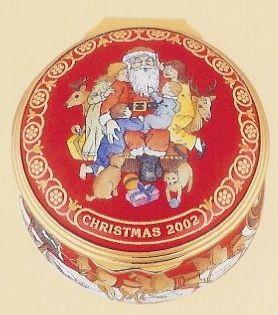 Halcyon Days 2002 Christmas Box