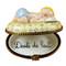 Limoges Imports Blue Baby Sleeping Limoges Box