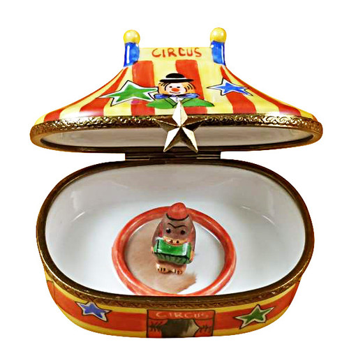 Limoges Imports Circus Tent Limoges Box