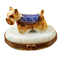 Limoges Imports West Highland Terrier Limoges Box
