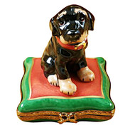 Limoges Imports Rotweilier Limoges Box