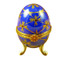 Limoges Imports Blue Footed Egg Limoges Box