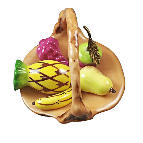 Limoges Imports Basket With Fruit Limoges Box