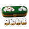 Limoges Imports Box With Dice Limoges Box