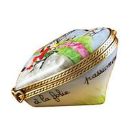 Limoges Imports Paris Heart Limoges Box