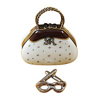 Limoges Imports Purse With Design Limoges Box