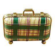 Limoges Imports Small Suitcase Limoges Box