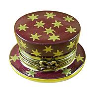 Limoges Imports Magician Hat W/Rabbit Limoges Box
