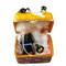 Limoges Imports Halloween Trunk W/ Dress & Hat Limoges Box