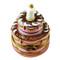 Limoges Imports Birthday Cake W/Candle Limoges Box