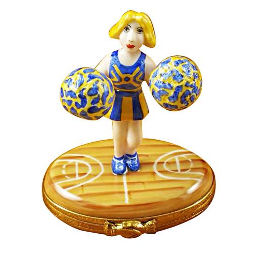 Limoges Imports Pom-Pom Girl Limoges Box