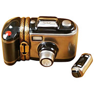 Limoges Imports Camera W/Removable Film Limoges Box