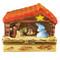Limoges Imports Manger W/4 Mini Figures Limoges Box