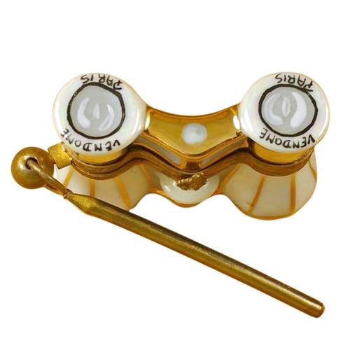 Limoges Imports Opera Glasses Limoges Box