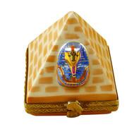 Limoges Imports Egyptian Pyramid Limoges Box
