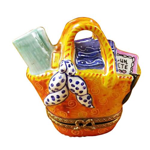 Limoges Imports Beach Bag Limoges Box