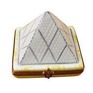 Limoges Imports Louvre Pyramid Limoges Box