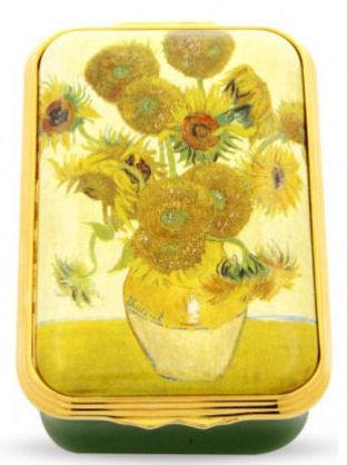 Halcyon Days Sunflower by Vincent van Gogh 1853-1890