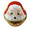 Limoges Imports 3 Old World Stacking Santas Limoges Box