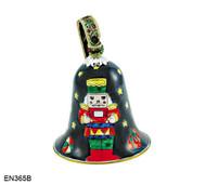 EN365B Kelvin Chen Toy Soldier Bell Enamel Ornament