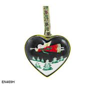 EN469H Kelvin Chen Flying Angel Heart Enamel Ornament