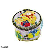ES0017 Kelvin Chen Teddy Bear with Present Stamp Box