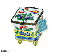 ES0024 Kelvin Chen Mixed Flowers Stamp Box