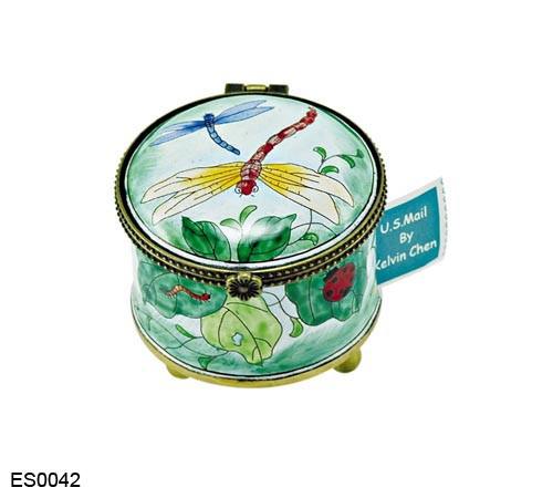 ES0042 Kelvin Chen Dragonfly Stamp Box