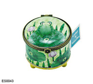 ES0043 Kelvin Chen Frog on Lilypad Stamp Box