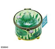 ES0043 Kelvin Chen Frog on Lilypad Stamp Box