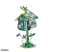 ES0052 Kelvin Chen Tulips Birdhouse Stamp Box
