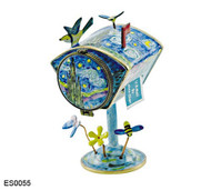 ES0055 Kelvin Chen Vincent Vincent Van Gogh Starry Night Mailbox Hinged Stamp Box