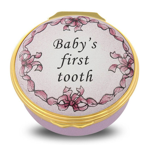 Halcyon Days Baby's First Tooth Pink 001/10703