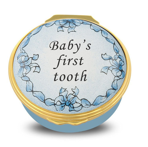 Halcyon Days Baby's First Tooth Blue 001/10704