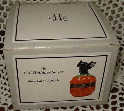Black Cat on Pumpkin PHB