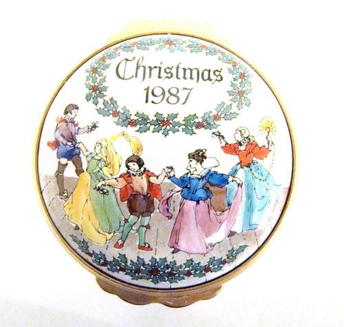 Halcyon Days 1987 Christmas Box